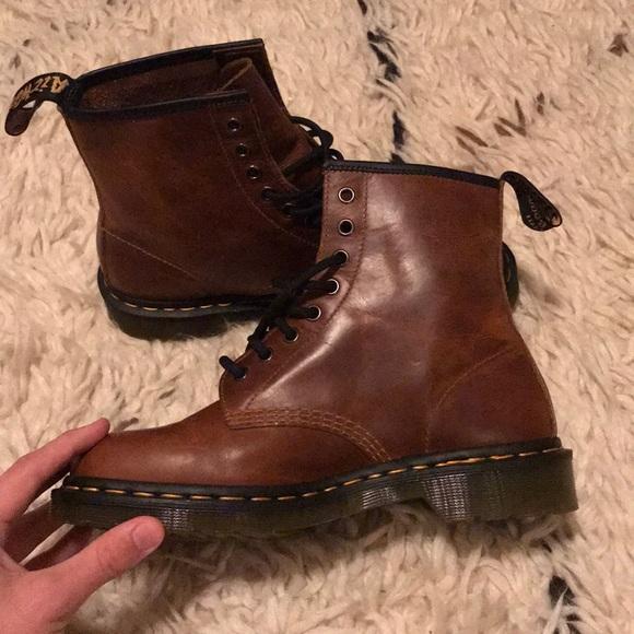 e2d75c7433 Dr. Martens Shoes | Mens 1460 Butterscotch Orleans Wp Dr Martens ...